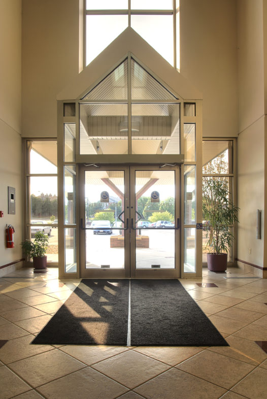 Lincoln Endoscopy Center Interior Doors